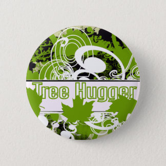 Tree Hugger Button