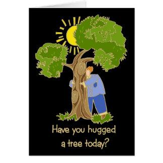 Tree Hugger Cards