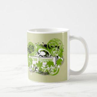 Tree Hugger Classic White Coffee Mug