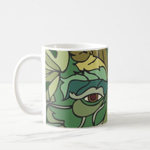 Tree Hugger Coffee Mugs