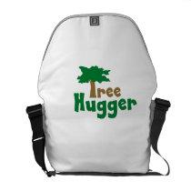 Tree Hugger Courier Bag
