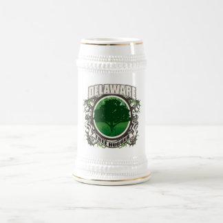 Tree Hugger Delaware Beer Stein