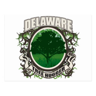 Tree Hugger Delaware Postcard
