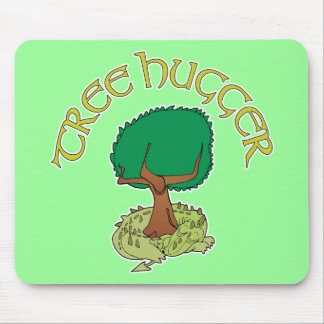 Tree Hugger Dragon Mouse Pads