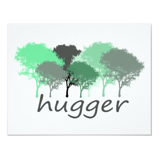 Tree Hugger Exclusive design! Card