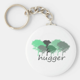 Tree Hugger Exclusive design! Keychain