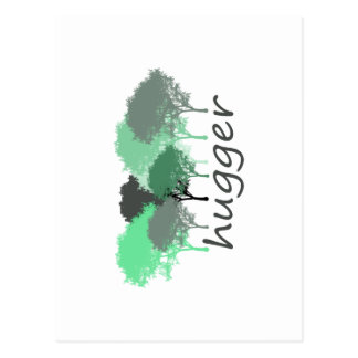 Tree Hugger Exclusive design! Postcard