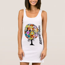 Tree Hugger - Flower Tree Organic T-shirts