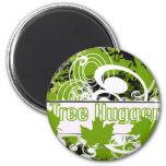 Tree Hugger Fridge Magnet