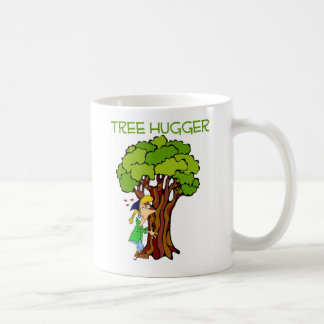 Tree Hugger - Girl Coffee Mug