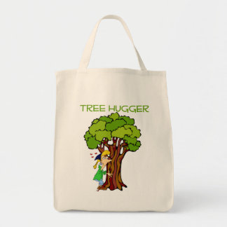 Tree Hugger - Girl Tote Bag