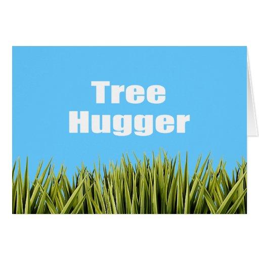 Tree Hugger Greeting Card