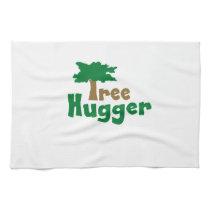 Tree Hugger Hand Towel