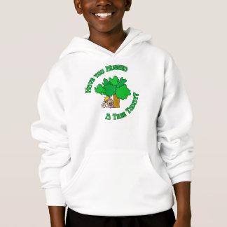 Tree Hugger Hippie Hoodie