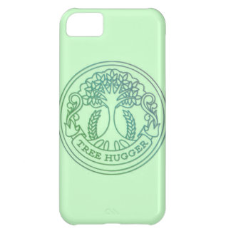 Tree hugger, hippy badge case for iPhone 5C