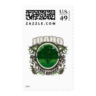 Tree Hugger Idaho Postage Stamps