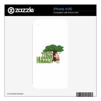 Tree Hugger iPhone 4 Skins