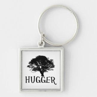 Tree Hugger Keychain