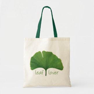 Tree Hugger Leaf Lover - Ginkgo Canvas Bag