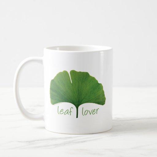 Tree Hugger, Leaf Lover - Ginkgo Mug