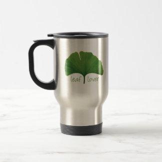Tree Hugger, Leaf Lover - Ginkgo Travel Mug