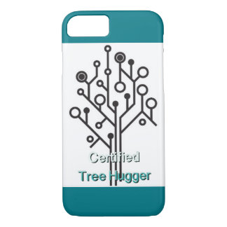 Tree hugger love cell iPhone 8/7 case