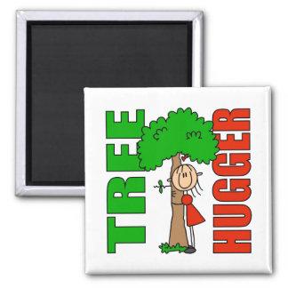 Tree Hugger Magnet