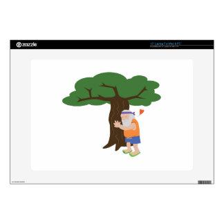 Tree Hugger Man Skins For Laptops