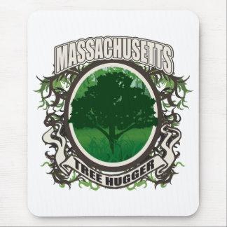 Tree Hugger Massachusetts Mouse Pad