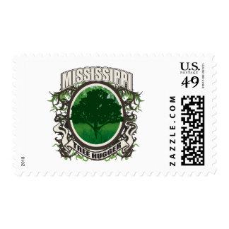 Tree Hugger Mississippi Postage