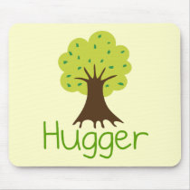 Tree Hugger Mouse Pad