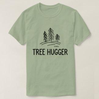 Tree hugger nature shirt conscious