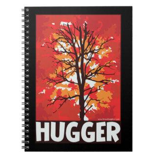 Tree Hugger Spiral Note Books