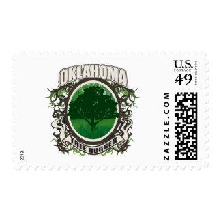 Tree Hugger Oklahoma Postage