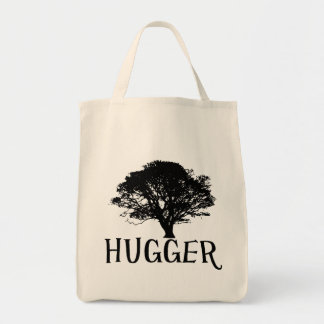 Tree Hugger Organic Grocery Tote Tote Bags