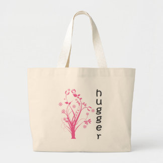 Tree Hugger original design! Large Tote Bag