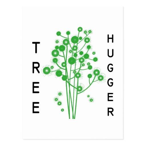Tree Hugger original design! Post Card