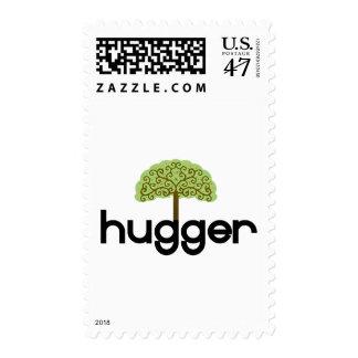 Tree hugger original design! postage stamp
