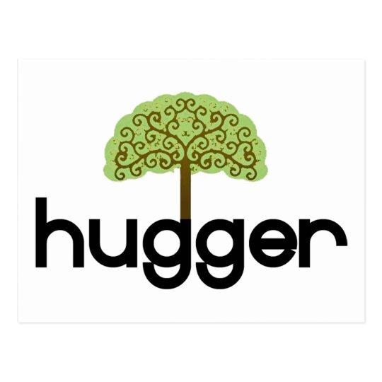 Tree hugger original design! postcard