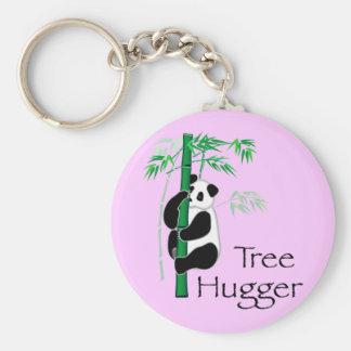 Tree Hugger Panda Keychains