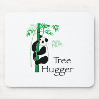 Tree Hugger Panda Mouse Pad