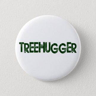 Tree Hugger Pinback Button