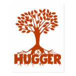 Tree Hugger Post Card