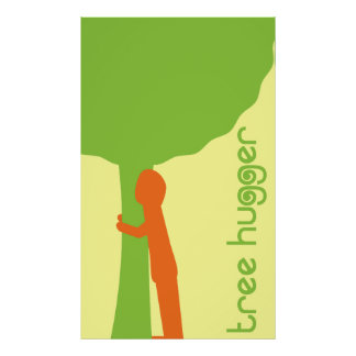 Tree Hugger Poster