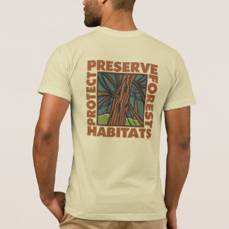 Tree Hugger, Protect Forests T-Shirt