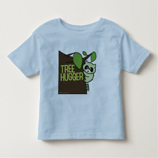 Tree Hugger Raccoon Toddler T-shirt