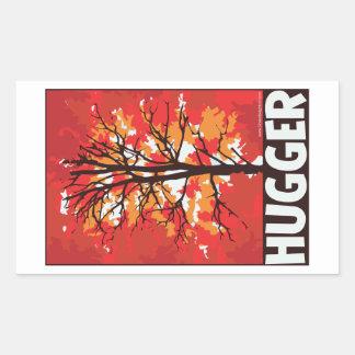 Tree Hugger Rectangular Sticker