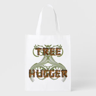 Tree Hugger Reusable Grocery Bag