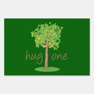 Tree Hugger Sign