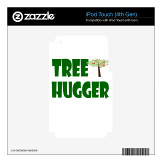 tree hugger decals for iPod touch 4G